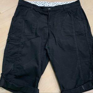 Lee stretch waist shorts